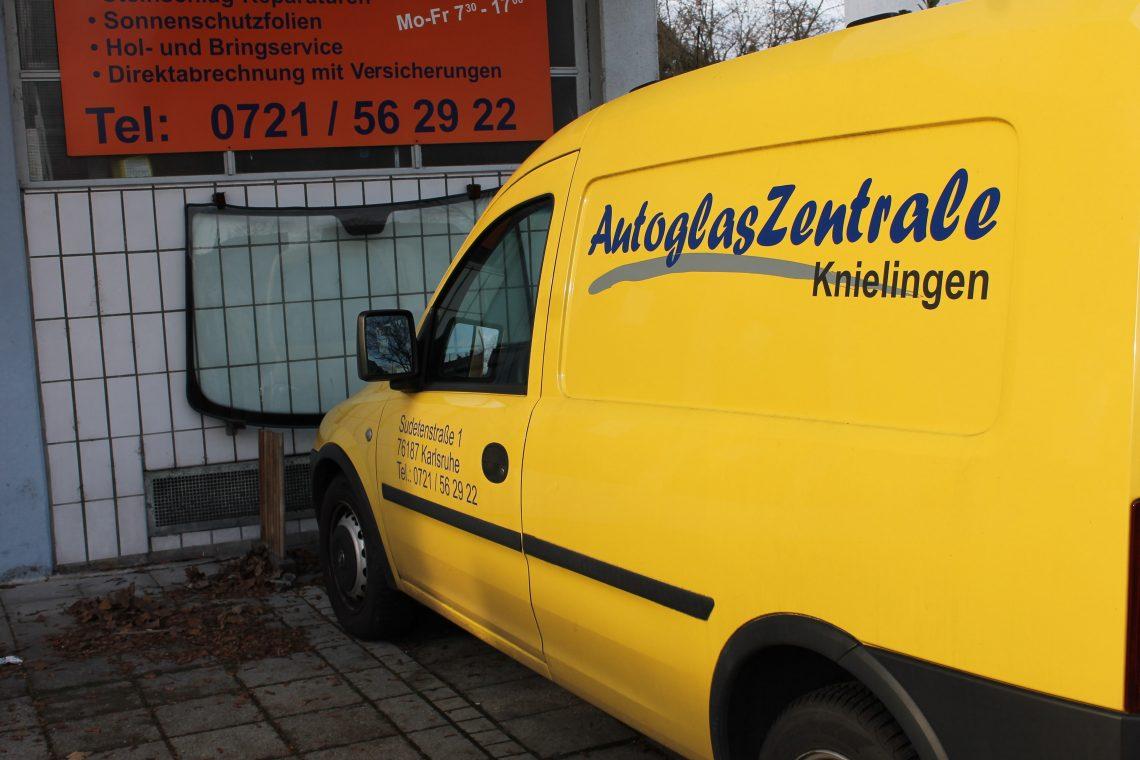 Autoglas Karlsruhe schnell Autoglas wechseln in Karlsruhe Knielingen